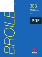 Ross 308 Broiler Nutrition Specs 2014r17 En