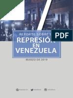 Reporte Foro Penal Marzo 2019