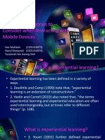 ICT Educational Theories to Consider when Instructing with Mobile Devices