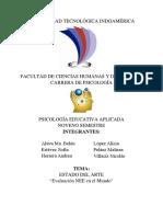 Estado Del Arte (Psicologia Educativa Aplicada) (1)