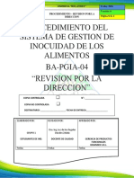 Pgia 04 - p. Revision Por La Direccion