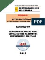 MODULO 01 - TITULO 07 DEL ORGANO ENCARGADO DE LAS CONTRATACIONES DEL ESTADO.docx