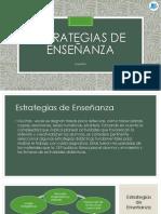 3.- Estrategias de Enseñanza Español