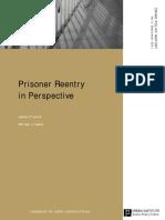Prisoner reentry in perspective