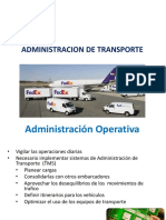 admon transporte