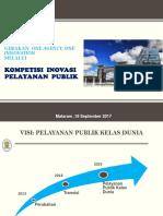 1. SLIDE Kompetisi Inovasi Pelayanan Publik 2017 - Mataram 19 Sep 2017.pptx