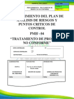 Pmh 04 - Tratamiento de Productos Nc