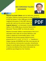 Máximo Coronado Talledo Biografia