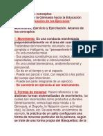 """""""Clasificación de Los Ejercicios"""""""