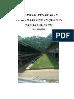 Proposal Qurban 1433 h 2012
