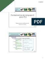 Fundamentos de Lenguaje C Para PIC