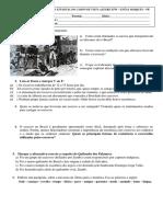 Prova 8º Escravidao Brasil 2019 Vista