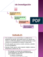 4.2 Variables - Operacionalizacion