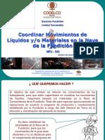 Competencia Coordinar Movimiento de Liquidos (Cap. 1, 2 y 3)
