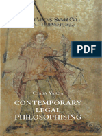 Csaba Varga - Contemporary Legal Philosophising.pdf
