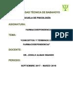 Definicion y Conceptos de Terminos