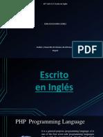 AP7 AA5 Ev3 Escrito en Inglés