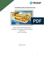 Trabajo de Investigación Sobre Las Partes Del Motor