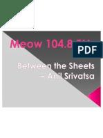 Between the Sheets – Anil Srivatsa