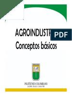 1 a. Conceptos Básicos de Agroindustria