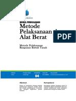 Metode Pelaksanaan Bangunan Bawah Tanah - Word.pdf
