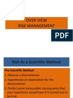 OVER VIEW Risk Management s209 [Autosaved]