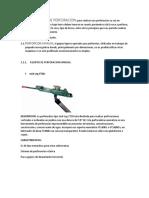 TIPO DE PERFORACIÓN EN MINERÍA