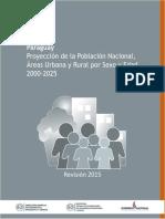 Estimacion y Proyeccion Nacional