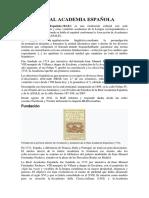LA REAL ACADEMIA ESPAÑOLA.docx