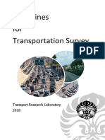 Traffic Survey Manual Guideline - Genap 2019.docx