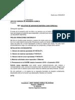 Carta de Caso Especial 01-2019