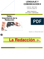 Importancia de la Redaccion.ppt