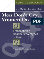 (Series in Death, Dying, and Bereavement) Terry L Martin and Kenneth J Doka-Men Don't Cry, Women Do_ Transcending Gender Stereotypes of Grief-Routledge (2000).pdf