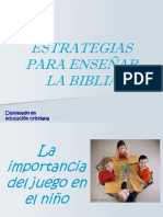 Estrategias de Enseñanza Biblica