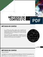 MÉTODOS DE CONTEO 2°C.pptx