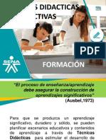 informacion tecnicas didacticas