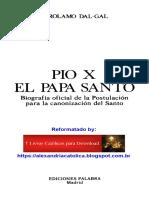 Girolamo Dal-Gal_Pio X_El Papa Santo