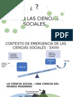 Presentación Capitulo IV Abrir las ciencias sociales