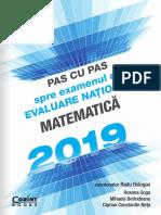 Evaluare Nationala Pas Cu Pas Matematica 2019