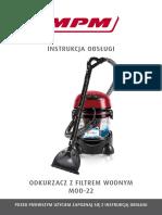 Aspirator Cu Filtrare Prin Apa - Instructiuni de Utilizare-1 3011534