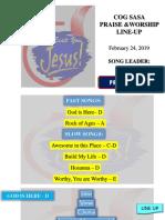 February 24 2019 Praise and Worship (1)
