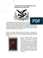 Acta Constitutiva de la Federación Mexicana y La Constitución Federal de 1824.docx