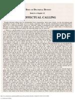 12. of Effectual Calling.