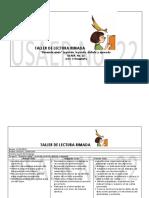 TALLER DE LECTURA RIMADA