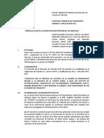 Documento de Infraccion