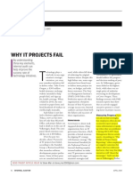 Why IT Projects Fail
