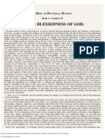 25. of the Blessedness of God.