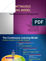 Bersin Continuous Learning Model