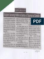 Abante, Apr. 25, 2019, Alejano tamang-duda sa banta ni Digong sa Canada.pdf