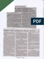 Manila Bulletin, Apr. 25, 2019, PRRD orders temporary closure of four Chozum stores.pdf